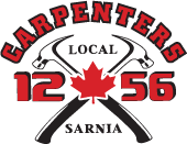 Carpenters Local 1256 - Mooretown Lady Flags Peewee C Team Sponsor - 2019 / 2020 Season